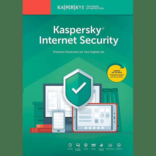 لایسنس 1 کاربره - 1 ساله - Kaspersky Internet Security اورجینال