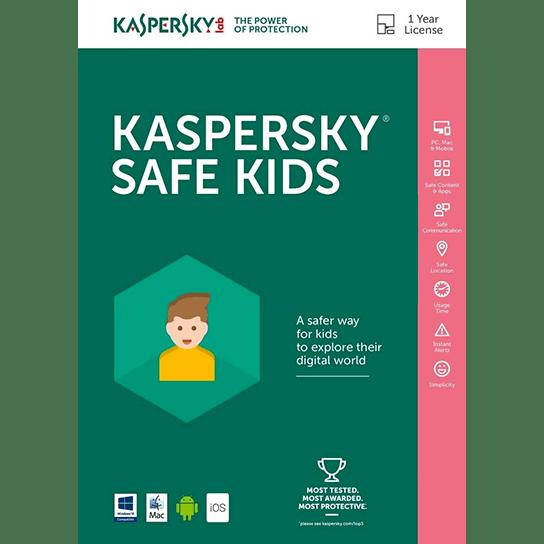 لایسنس 1 کاربره - 1 ساله - Kaspersky Safe Kids اورجینال