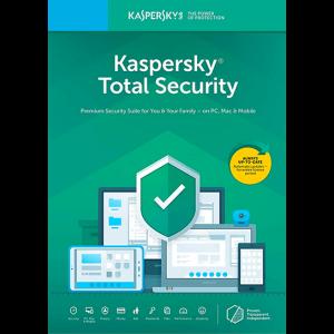 لایسنس 1 کاربره - 1 ساله - Kaspersky Total Security اورجینال